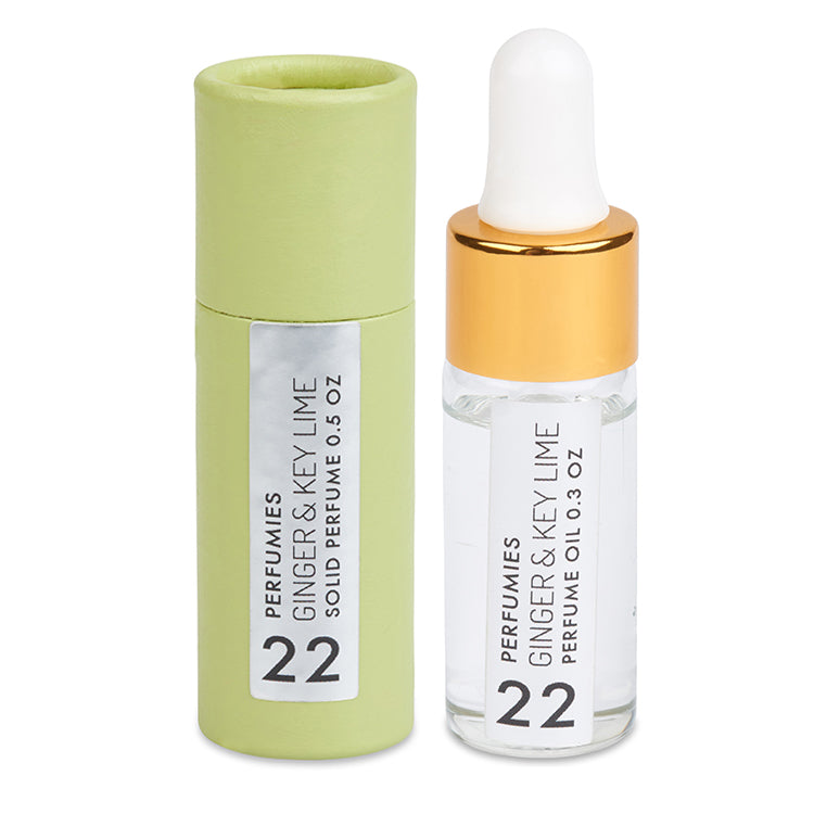 Ginger & Key Lime Perfume Set | No. 22