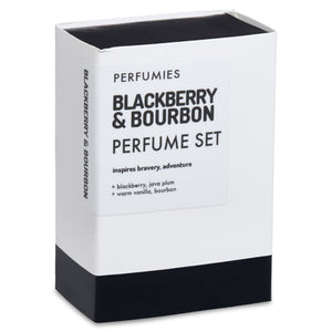 Blackberry & Bourbon Perfume Set | No. 43
