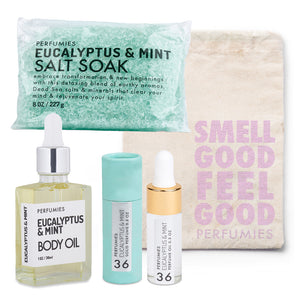 Eucalyptus & Mint Bath + Body Set | No. 36