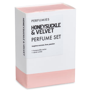 Honeysuckle & Velvet Perfume Set | No. 30