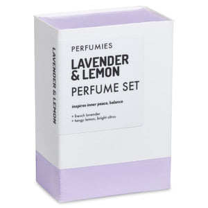 Lavender & Lemon Perfume Set | No. 06