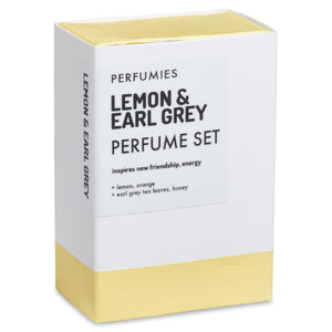 Lemon & Earl Grey Perfume Set | No. 41