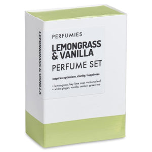 Lemongrass & Vanilla Perfume Set | No. 08