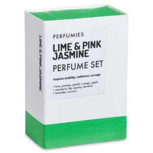 Lime & Pink Jasmine Perfume Set | No. 07