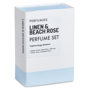 Linen & Beach Rose Perfume Set | No. 21