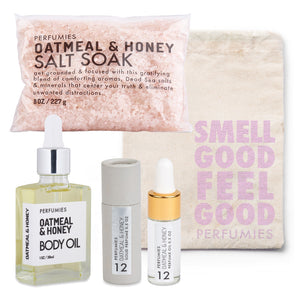 Oatmeal & Honey Bath + Body Set | No. 12