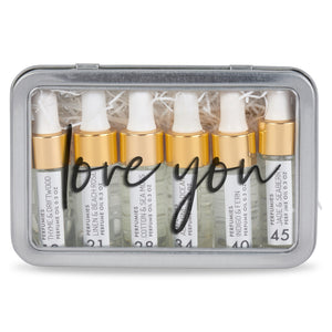Love You Perfume Oils Gift Set