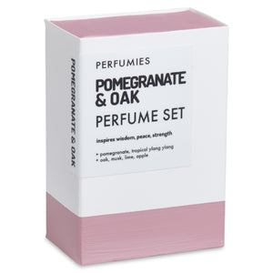 Pomegranate & Oak Perfume Set | No. 33