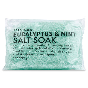 Eucalyptus & Mint Salt Soak Packette