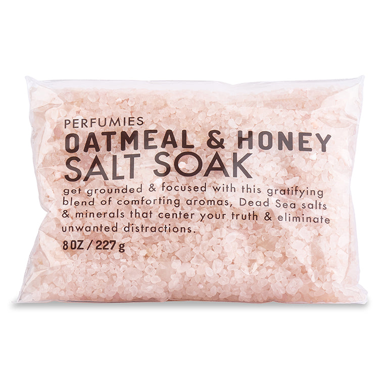 Oatmeal & Honey Salt Soak