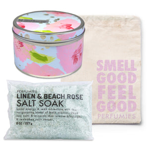 Linen & Beach Rose Relaxation Set | No. 21