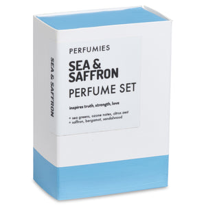 Sea & Saffron Perfume Set | No. 42