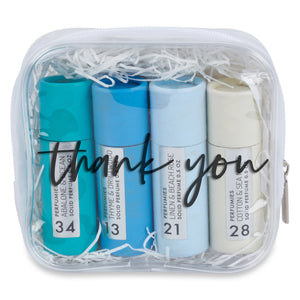 Thank You Solid Perfume Gift Set