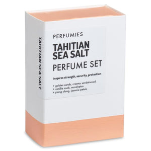 Tahitian Sea Salt Perfume Set | No. 05