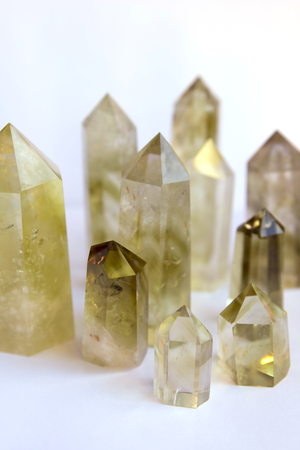 Citrine Power Crystal <br> (ABUNDANCE & LUCK)