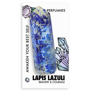 Lapis Lazuli Power Crystal <br> (BRAVERY & COURAGE)