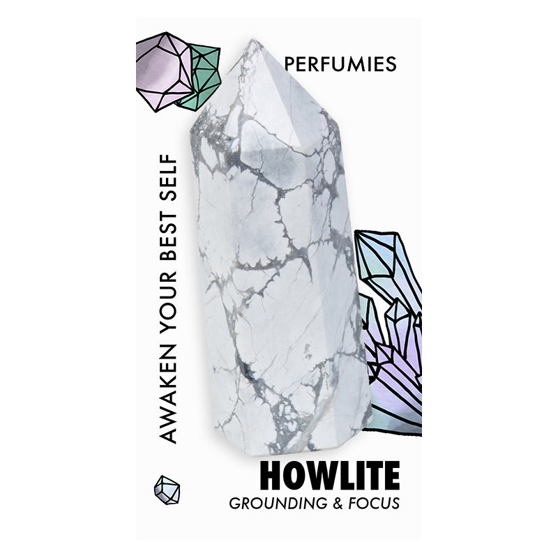 Howlite Power Crystal <br> (GROUNDING & FOCUS)