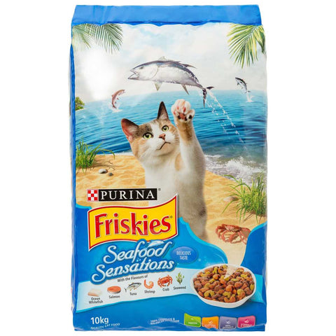 Friskies Seafood Sensations Cat Dry Food