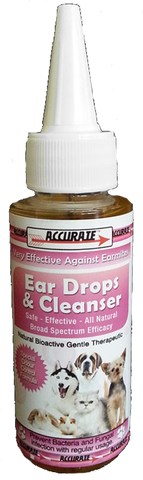 Accurate Ear Drop & Cleanser 70ml