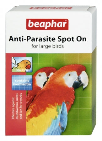 Beaphar Anti-Parasite Spot On Large Birds