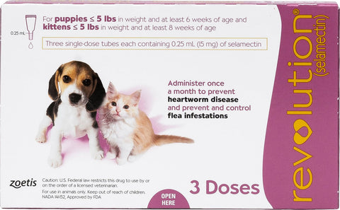 Revolution Spot On for Puppy & Kitten 3 Doses