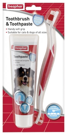Beaphar Toothpaste Combipack