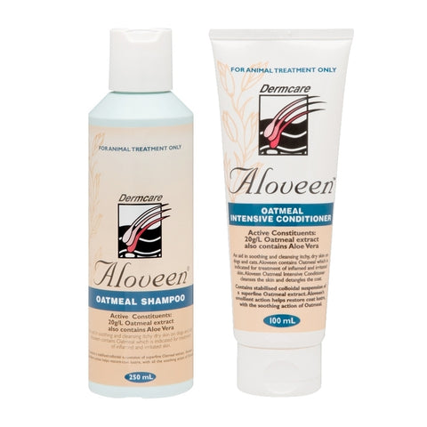 Aloveen Oatmeal Shampoo & Conditioner Package