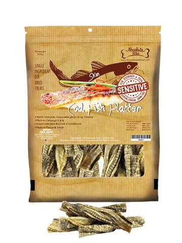 Absolute Bites Air Dried Cod Fish Platter 500g