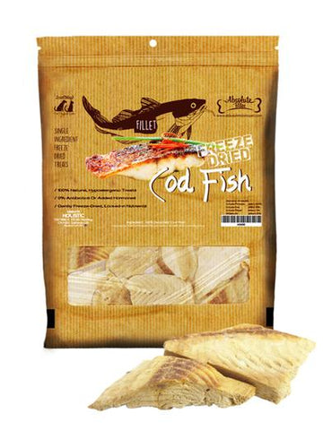Absolute Bites Freeze Dried Cod Fish Fillet 2oz