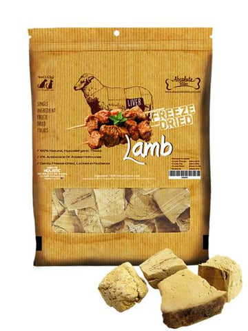 Absolute Bites Freeze Dried Lamb Chunk 3.3oz