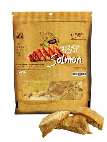 Absolute Bites Freeze Dried Salmon Fillet 2oz