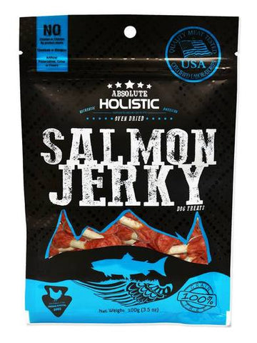 Absolute Holistic Grainfree Salmon Dumbbell 100g
