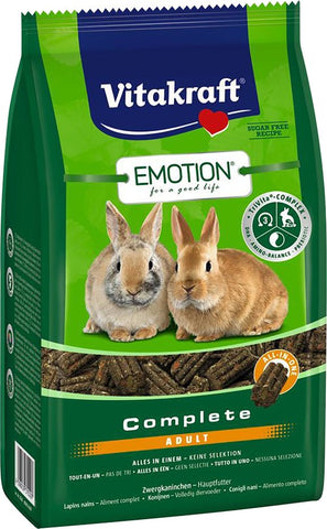 Vitakraft Emotion Complete Adult Rabbit 800g