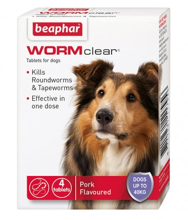 Beaphar WormClear Tablets Large Dog