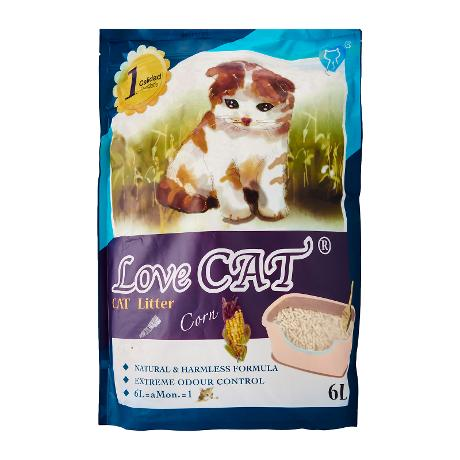 Love Cat Tofu Litter Corn 6L