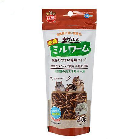 Marukan Insect Specialty Dry Mealworms 40g