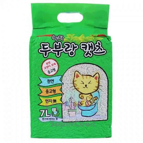 Love Cat Korea Tofu Litter Green Tea 7L