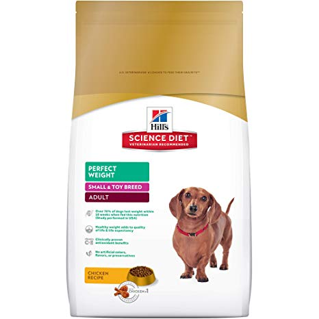 Science Diet Canine Adult Perfect Weight Small & Toy Breed 4lb