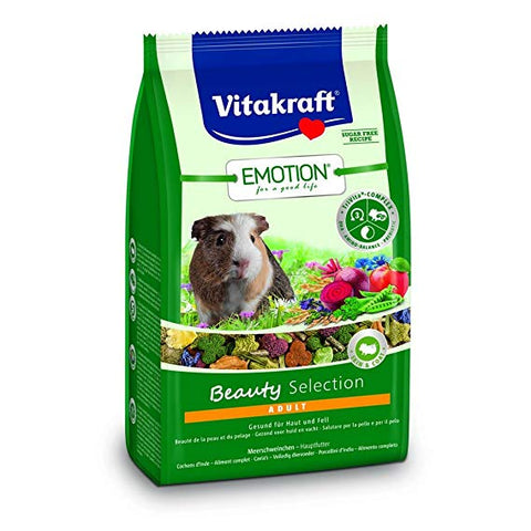 Vitakraft Emotion Beauty Selection Adult Guinea Pig 600g