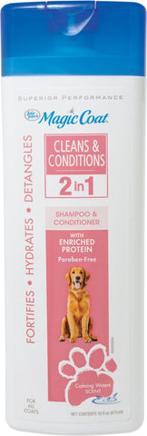 Four Paws Cleans & Conditions 2-in-1 Shampoo 16oz
