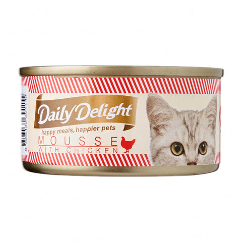 Daily Delight Mousse with Chicken (12 x 80g)