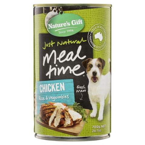 Nature's Gift Chicken, Rice & Vegetable 700g x12