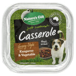 Natures Gift Casserole Kangaroo & Vegetable Dog Tray 100g x12