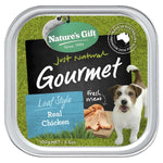Natures Gift Real Chicken Dog Tray 100g 12pcs