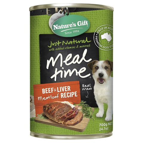 Nature's Gift Beef & Liver 700g x12