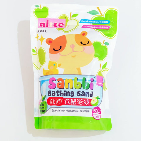 Alice Sanbbi Apple Hamster Bathing Sand