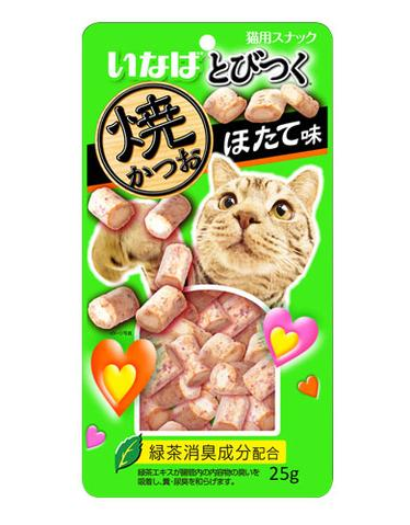 CIAO Soft Bits Mix -Tuna and Chicken Fillet Scallop Flavor 25g