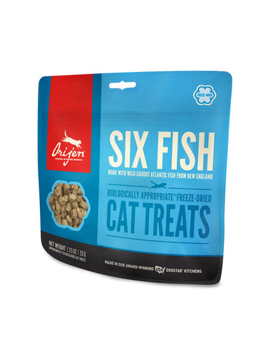 ORIJEN Six Fish Freeze-Dried Cat Treats