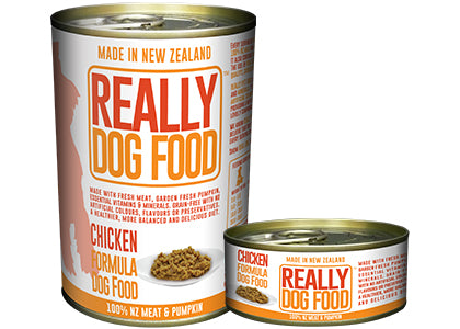 Really Dog Food Chicken 90g x 12 Cans