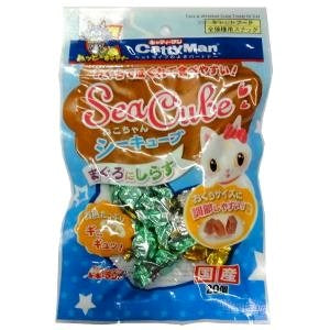 CattyMan Sea Cube Tuna & Whitebait Flavored Treats For Cat 20pcs
